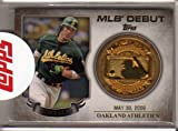 2016 Topps MLB Debut Medallion #MLBDM235 Carlos Gonzalez - Meatl Coin Card - Oakland Athletics