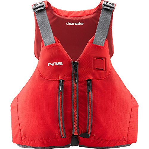 NRS Clearwater Lifejacket (PFD)-Red-L/XL