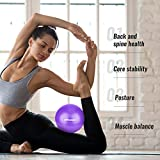 Trideer Pilates Ball, Barre Ball, Mini Exercise