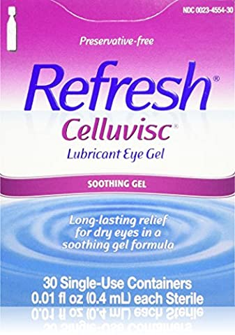 Refresh Celluvisc Lubricant Eye Gel Single-use Containers 30 Ea (Refresh Contacts)