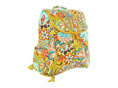 Vera Bradley Double Zip Backpack Provencal