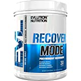 Evlution Nutrition Recover Mode Post Workout Recovery Powder (30 Serving, Blue Raz)