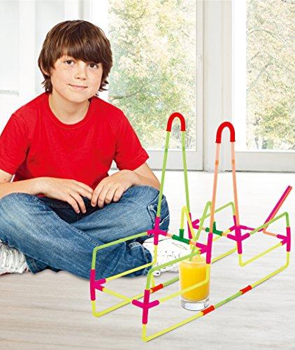 (KOVOT 194 Piece Drinking Straw Building Set - A Fun Way To)