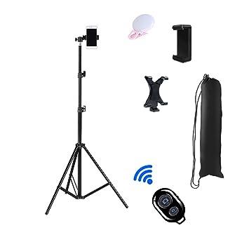 Trípode para teléfono móvil, trípode ligero para cámara de vídeo ...