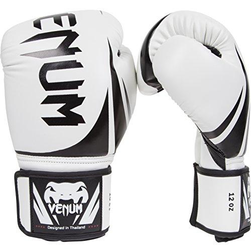 Venum Challenger 2.0 Boxing Gloves, White, 16-Ounce