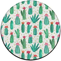 ART TANG Area Rug Carpet Non-slip Round Floor Mat Kids Room Carpets