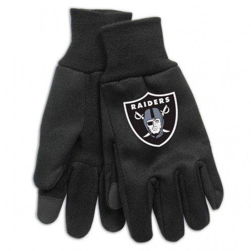 NFL Oakland Raiders Technology Touch Gloves ()