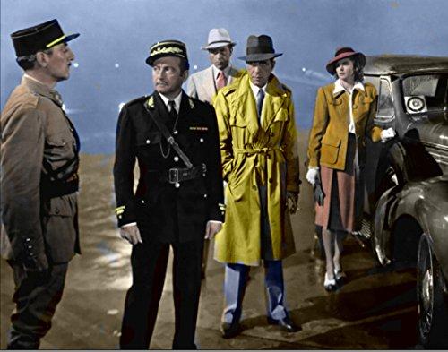 Studio Release 11 x 14 Vintage Photo Humphrey Bogart Casablanca Hollywood Legends Color Photo Rare