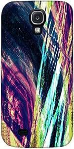 Snoogg Abstracta Pintura Diseñador Protectora Volver Funda Para Samsung Galax...