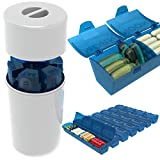 4Thought Extra Large Pill Organizer, High Quality Durable Design, Countertop Weekly Pill Box, 7 Day Med Manager XL