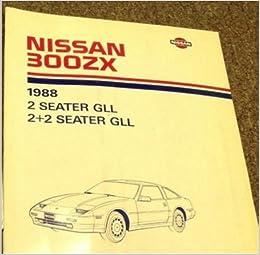 1988 Nissan 300zx Electrical Wiring Diagram Troubleshooting Shop. 1988 Nissan 300zx Electrical Wiring Diagram Troubleshooting Shop Manual Ewd Oem Amazon Books. Wiring. 300zx Wiring Diagram At Scoala.co