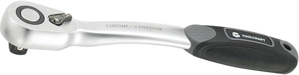 12.5 mm Cliquet r/éversible TOOLCRAFT 816194 1//2 s 250 mm 1 pc