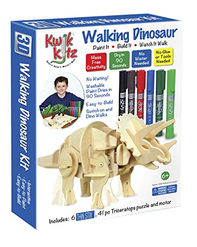 Pencil Grip Kwik Kitz Walking Dinosaur Kit