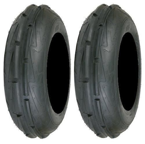Pair of Sedona Cyclone Front 19x6-10 (2ply) ATV Tires (2) by Powersports Bundle