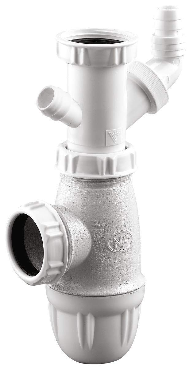 Compra Nptn Sifón con Toma Lavadora Neptune - diámetro 40 mm en ...