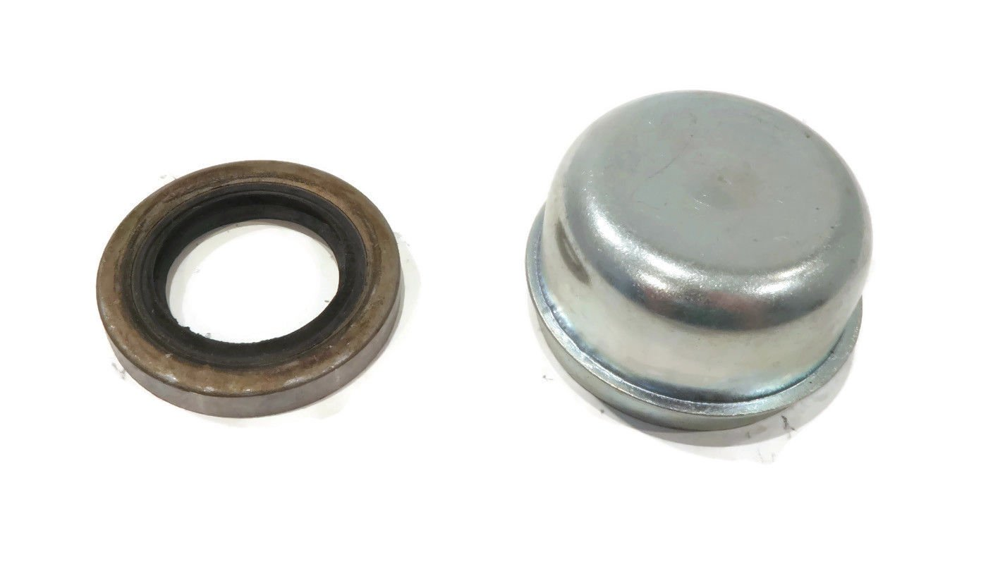 The ROP Shop 2 Trailer AXLE Kits for 2000 lb w//Hub Spindle Grease Seal Dust Cap Bearings