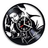 Cyndi Lauper Vinyl Record Wall Clock, Music Gift