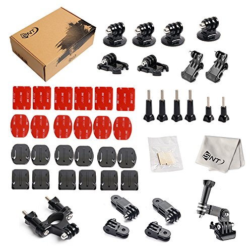 SNT Outdoor Sports Kits for GoPro Hero 5/4/3+/3/2/1 Gopro session and sj4000/sj5000 Cameras