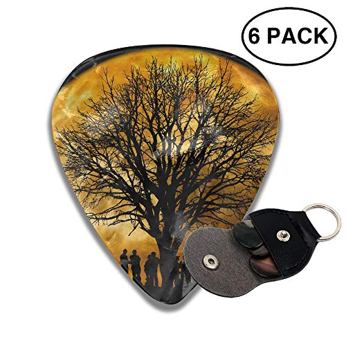 Grghtrghlsd Tree Kahl Moon Classic Guitar Picks Electric/Acoustic for sale  Delivered anywhere in USA