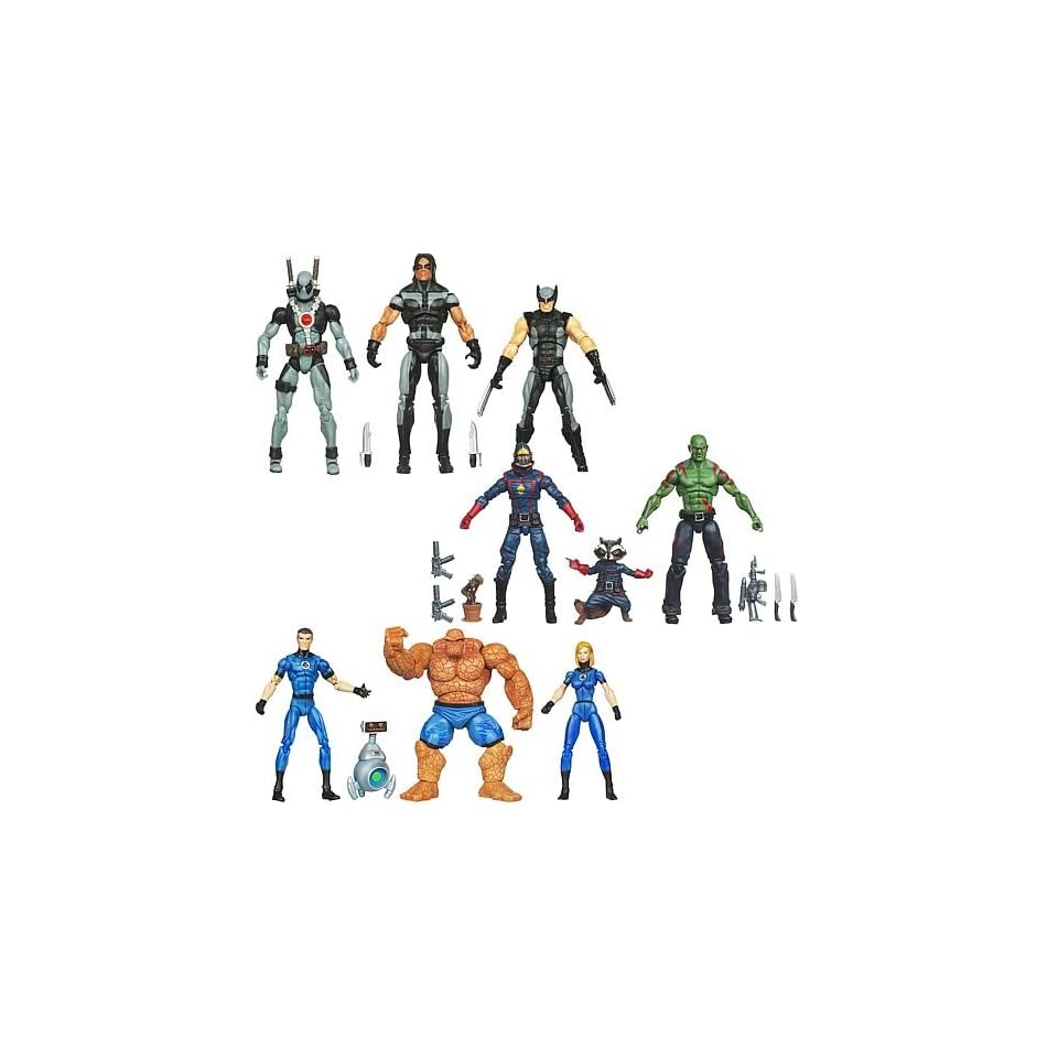 Marvel Universe Super Hero Team Action Figure Packs Wave 3