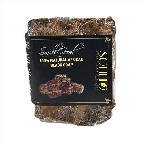 African Black Soap 100% Pure Raw 5 lbs. (Black Soap Cocoa Butter)
