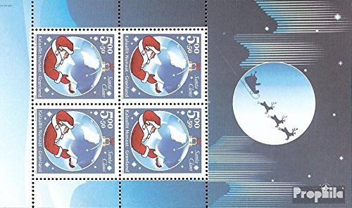 Denmark - Greenland Block 26 (Complete.Issue.) 2003 Santa Claus of Greenland (Stamps for Collectors) Religion