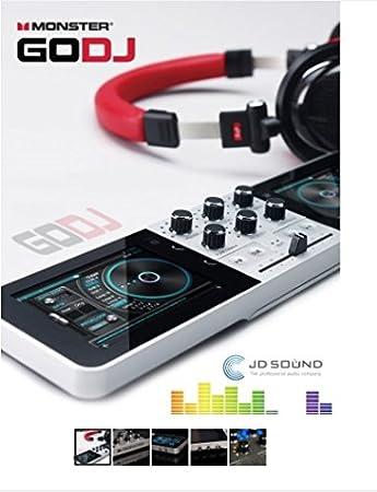 MONSTER portátil GODJ, sistema STAND-ALONE DJ: Amazon.es ...