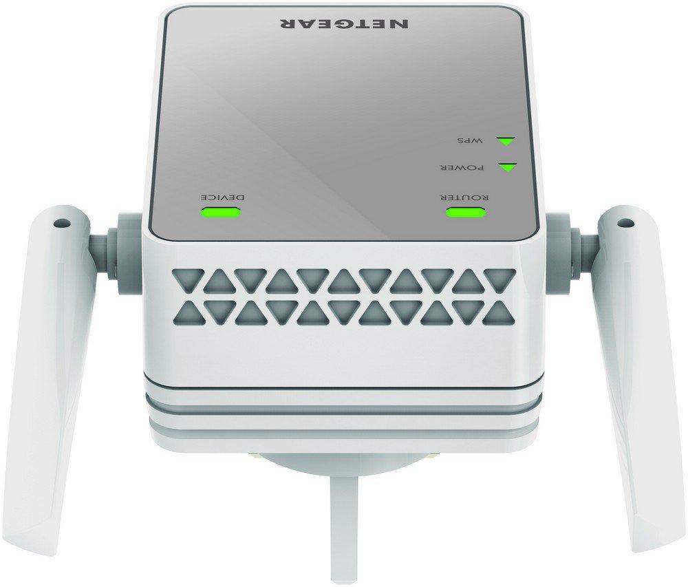 Netgear EX2700-100UKS - Extensor de red WiFi N300 (puerto Ethernet, antenas externas, repetidor WiFi, 1 puerto) plateado [modelo UK]: Amazon.es: Informática