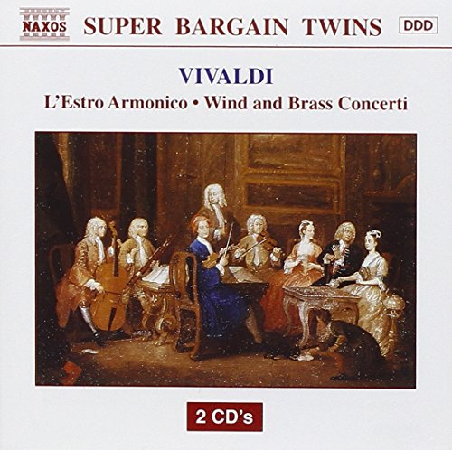 Vivaldi 'L'estro Armonico Op.3'- Concerti No.1 2 4 7 8 10 & 11 / Flute Concerto 'La Tempest