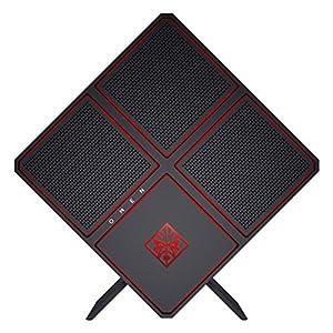 OMEN X by HP Gaming Desktop Computer, Intel Core i7-7700K, 8GB RAM, 2TB hard drive, 256GB SSD, Windows 10 (900-110, Black)