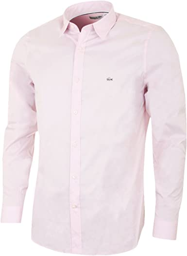 Lacoste Ch5888-Camisa Hombre Rosa Twilight XL: Amazon.es: Ropa y accesorios