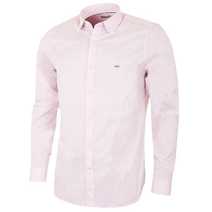 Lacoste Ch5888-Camisa Hombre Rosa Twilight XL: Amazon.es: Ropa y ...