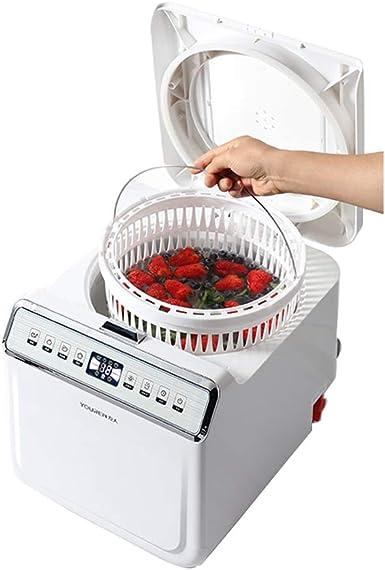 JCOCO Totalmente automático Ozone Fruit Vegetable Washer - Purificador de alimentos - Medidor de salud ecológico ...