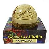Natural Sandalwood Solid Perfume Body Musk In Stone Jar 8