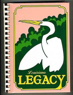 Louisiana Legacy Cookbook Thibodaux Service League Rich Tradition Bayou Recipes from Generic