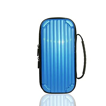 ACHICOO Storage Hard Case Console Carrying Bag Portable Travel Cover for Nintend sw/Itch Blue
