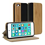 Best GMYLE Ipods - iPod touch 5 wood Case, GMYLE Wallet Case Review