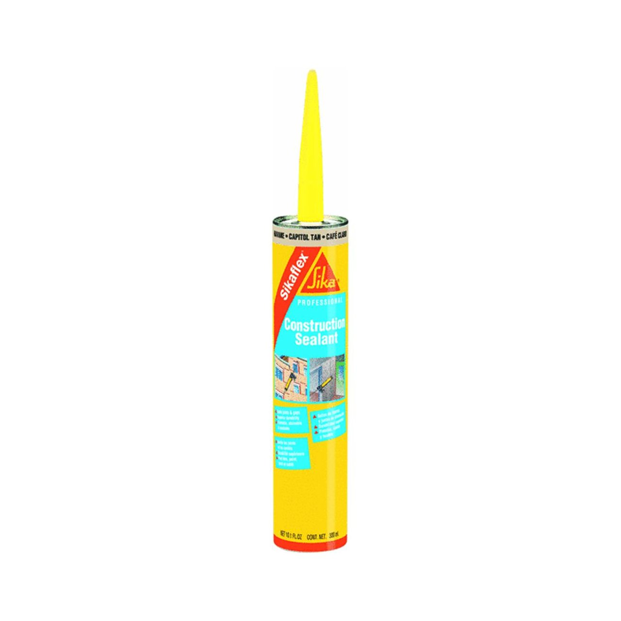 Amazon sika 107840 sikaflex construction sealant color of amazon sika 107840 sikaflex construction sealant color of caulk home improvement nvjuhfo Choice Image