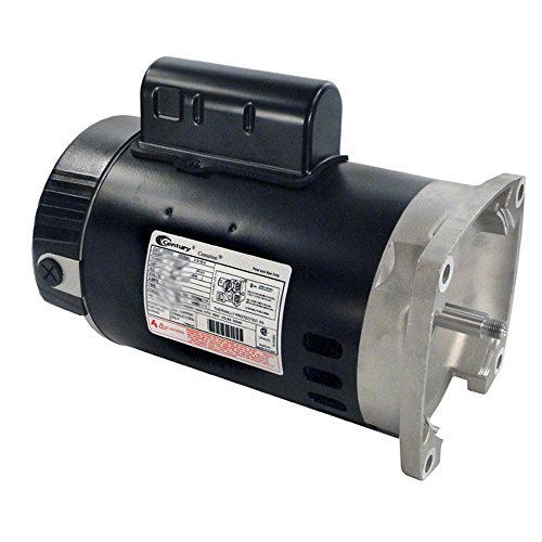 A.O. Smith B2852 3/4 HP, 3450 RPM, 1 Speed, 230/115 Volts, 5.4/10.8 Amps, 1.25 Service Factor, 56Y Frame, PSC, ODP Enclosure Square Flange Pool Motor (Century Pool Pump Motors)