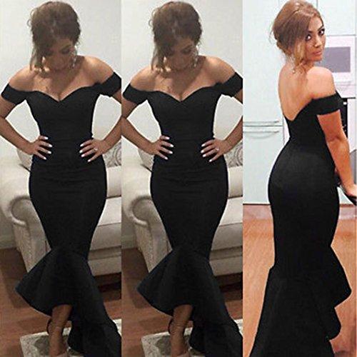 Upxiang Frauen formales Abend Partei Kleid Sexy weg von der Schulter ...
