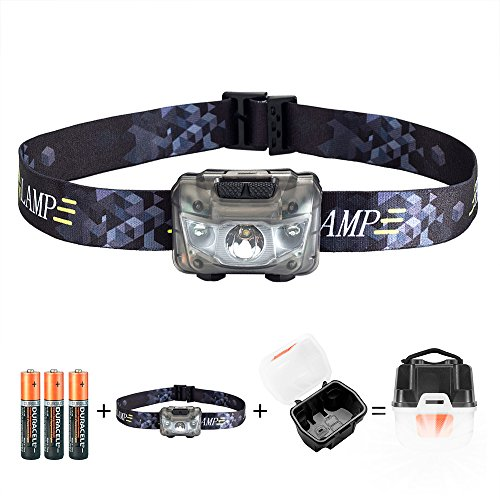 AIRSSON Headlamp Flashlight Batteries Camping product image