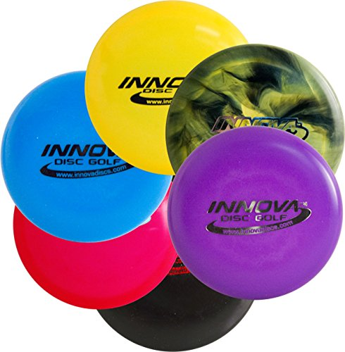 Multi Pack Mini (Innova Disc Golf Mini 6 Pack - Set of Six Minis - Assorted Colors)