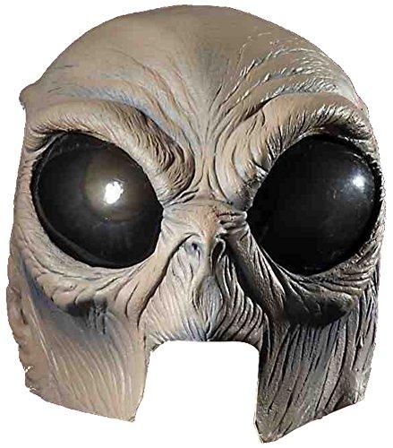 [Alien Latex Half Mask Adult Accessory] (Latex Alien Mask)