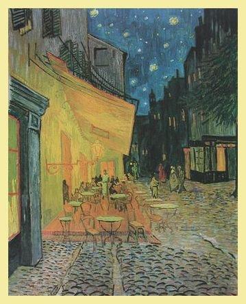 Vincent Van Gogh Das Nacht Cafe Kaffee Terrasse Am Abend Poster