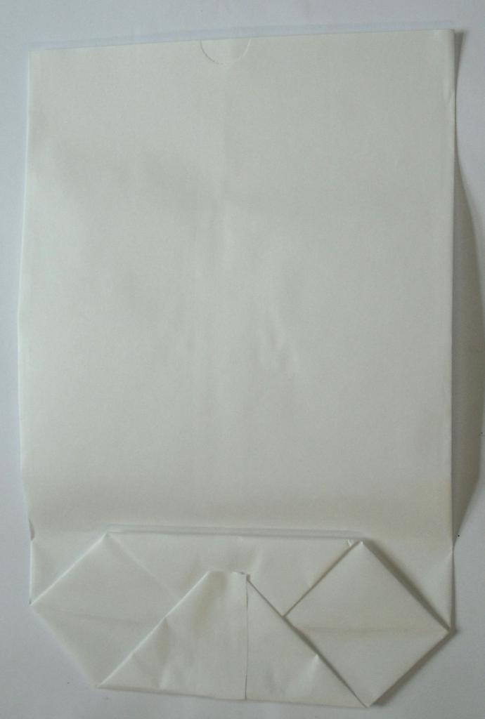 Bodentüte weiß ohne Futter 17x26cm (1000St.)