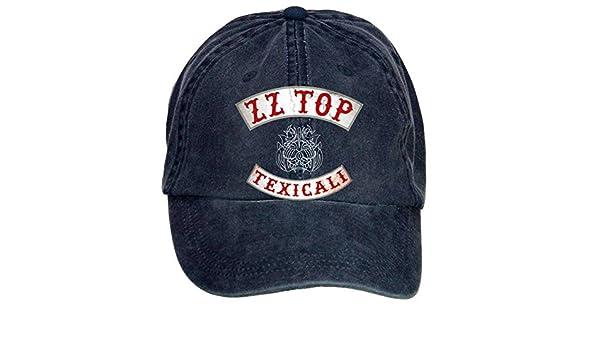 ZZ Top Texicali Cotton Six-panel Till Baseball Cap Hats Unisex