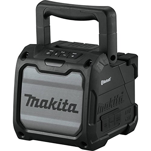Makita XRM08B 18V LXT / 12V max CXT Lithium-Ion Cordless Bluetooth Job Site Speaker, Tool Only