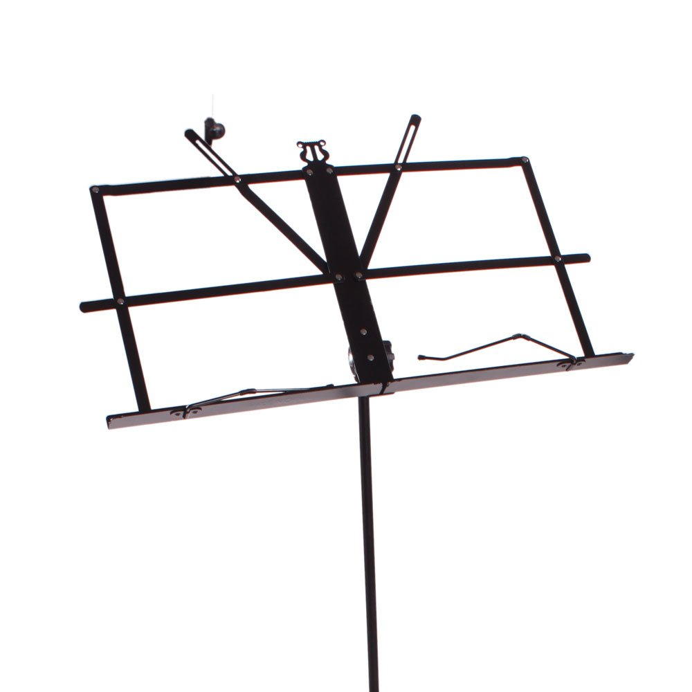 Kuyal Adjustable Music Stand Folding Music Book Stand With Carrying Bag Suitable For Instrumental Performance