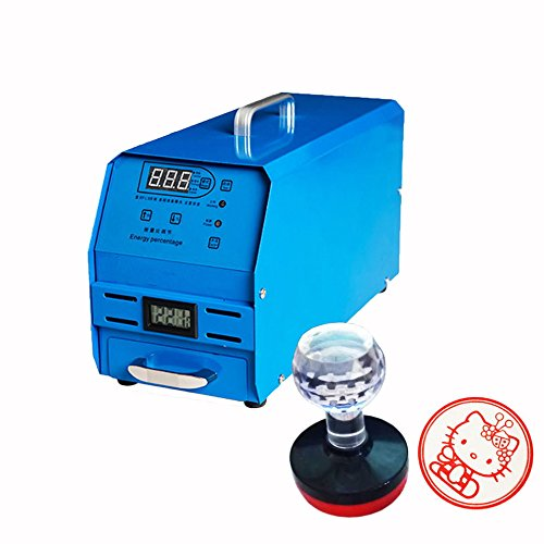 Toauto Photosensitive Seal Machine Flash Stamp Machine for Business seals Portrait Logo Mark and Carton Seal Standard/High-matchVersion (High-match Version) by ToAuto