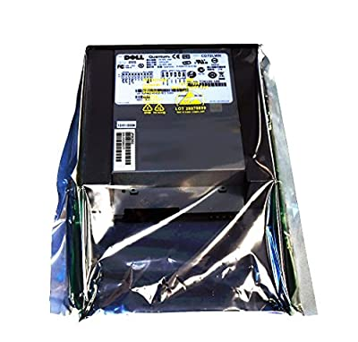 GF482 Genuine OEM Dell PowerVault PV110T DAT72i DDS-5 TBU 36/72GB Tape Back-up Unit Internal Half-High Quantum TD6100-165 CD72LWH INT DAT72 DDS5 SCSI LVD SE 68p Tape Drive TB DF675 R3999 from Genuine OEM Dell